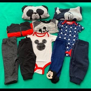 Mickey Mouse Outfit Bundle